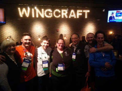 Friends at Wingcraft